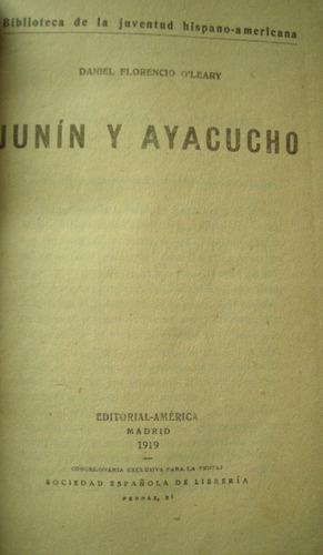 o'leary, daniel florencio -  junin y ayacucho