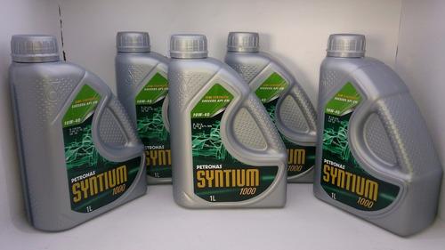 óleo 10w40 sm kit 5 lts nissan renault fiat petronas syntium