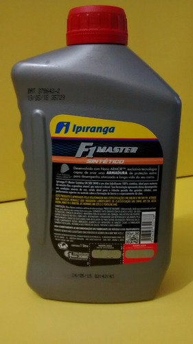 óleo 5w40 sintético ipiranga