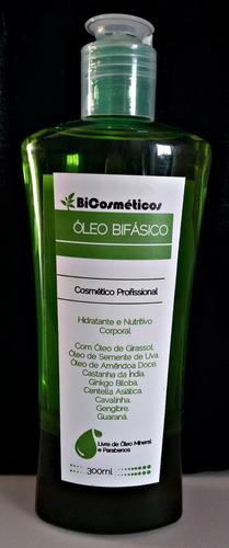 óleo bifásico massagem e hidratação pele bicosmeticos 300ml