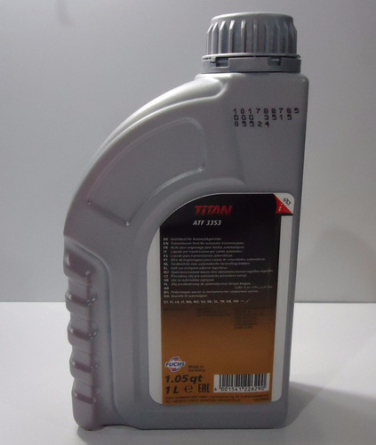 óleo cambio automático atf 3353 mb 236.12 ssangyong 1 litro