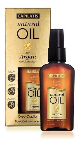 óleo capilar natural oil con argán de marruecos