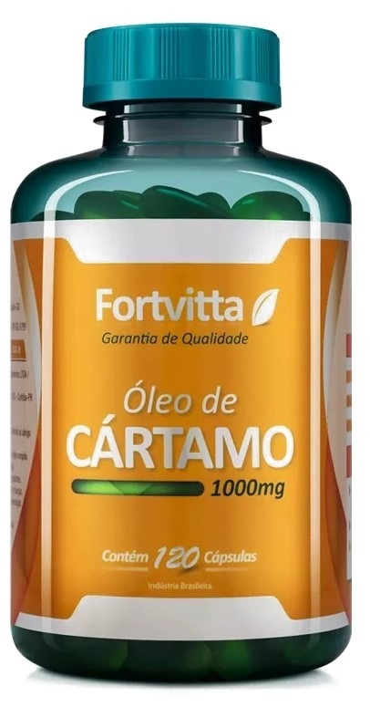 4f9a5cabe Óleo Cártamo 1000mg 120 Cápsulas Fortvitta Promoção Unidade - R  36 ...