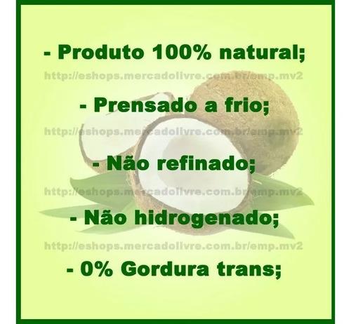 óleo coco coco
