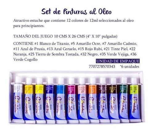 oleo córdoba - kit de arte
