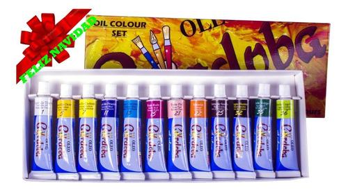 oleo córdoba - kit de pintura 3 articulos