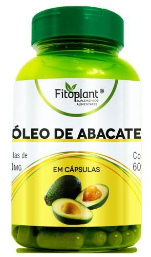óleo de abacate  1000mg caixa c/ 6 potes
