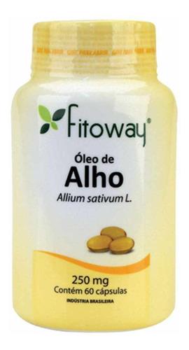 óleo de alho - 250mg - 60 cápsulas