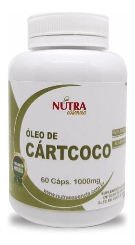 óleo de cartcoco 60 caps nutra essência