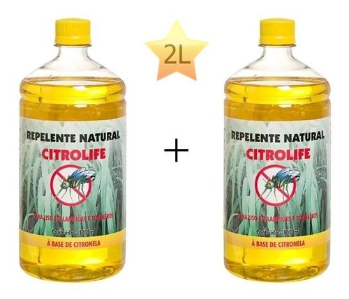 óleo de citronela p/ tochas lampiões lamparina 2 l