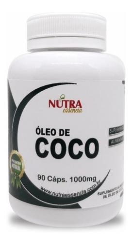 óleo de coco 60 caps nutra essência