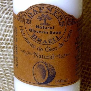 óleo de coco babaçu em creme - hidratante 100% natural