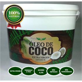 Óleo De Coco Extra Virgem -galão De 5 Litros -frete Especial
