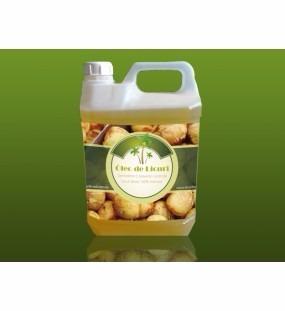 óleo de coco licuri 5 litro alimentação 100% natural