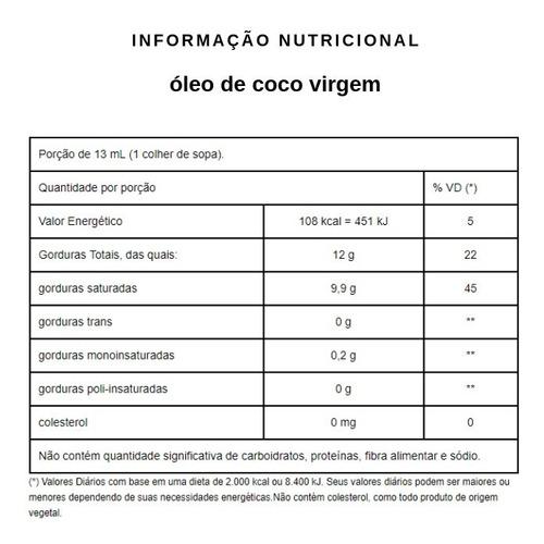 óleo de coco virgem balde 10 litros - qualicôco