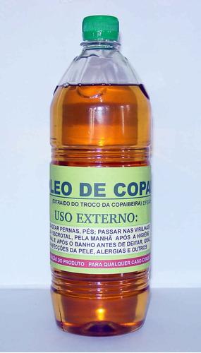 óleo de copaíba-01 litro - puríssimo