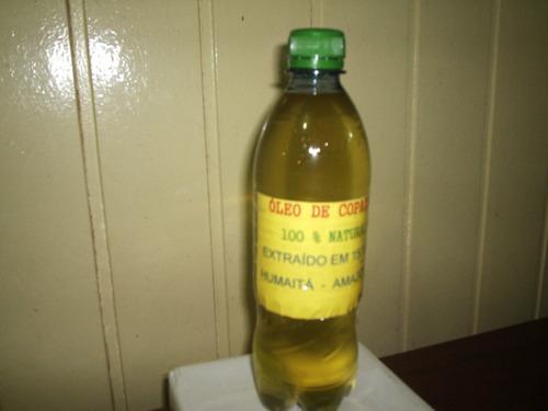 óleo de copaíba-500 - 100% natural