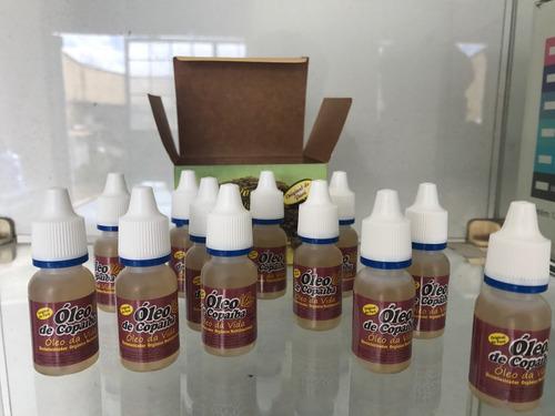 óleo de copaíba kit c 12 unidades original 10ml do pará top