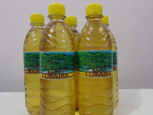 óleo de copaíba natural - 500 ml - frete grátis
