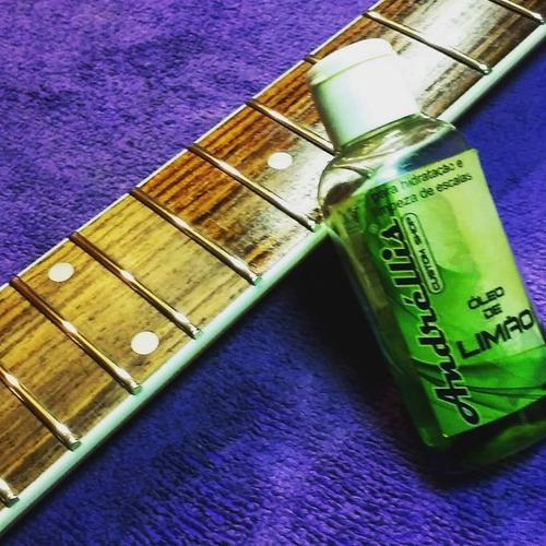 óleo de limão andréllis para escalas guitarra baixo violão