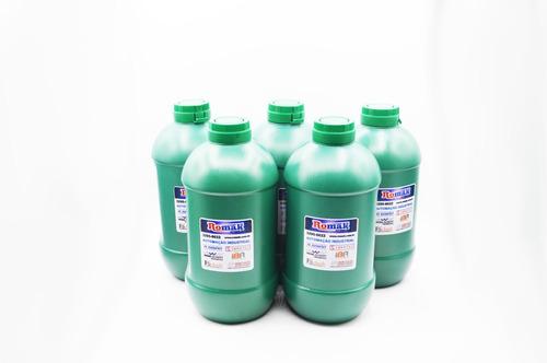 óleo de mamona 5 unidades - romak