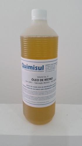 óleo de mamona puro e natural 1 litro promoção 15%off