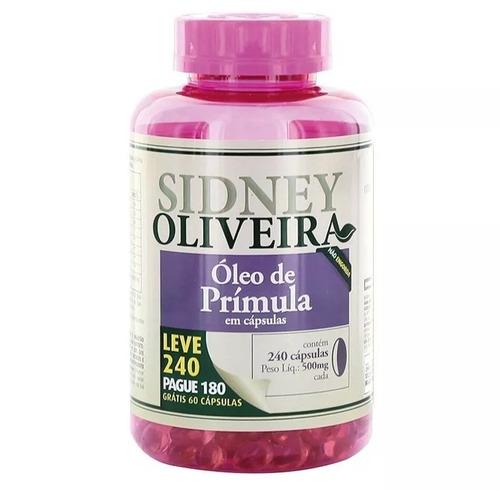 óleo de prímula 500 mg - sidney oliveira mulheres ativas