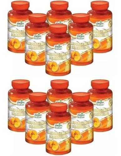 óleo de semente de abóbora - 12x 60 cápsulas - katigua