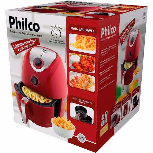 oleo elétrica philco fritadeira sem