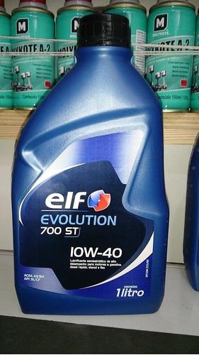 óleo elf 10w40 original clio logan 1.6 16v + kit filtros