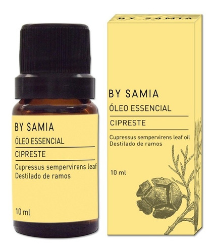 óleo essencial cipreste 10ml by samia