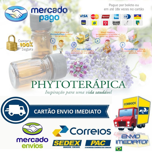 óleo essencial citronela  (orgânico)- 10ml phytoterápica