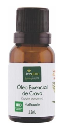 óleo essencial cravo live aloe massagem e aromaterapia