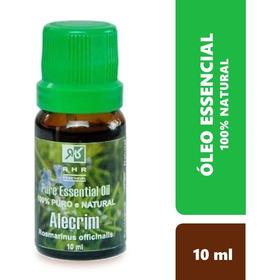 Oleo Essencial De Alecrim Natural 100% Puro 10 Ml - Rhr