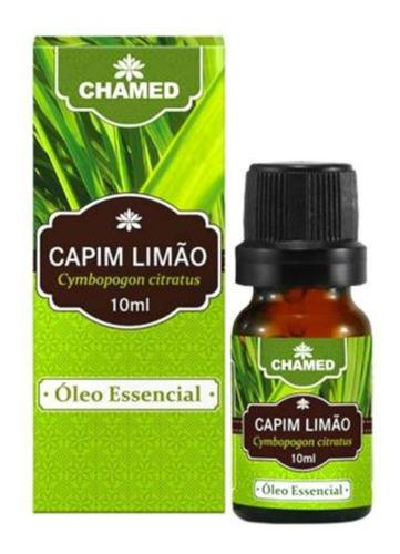 óleo essencial de capim limão 10 ml chamed