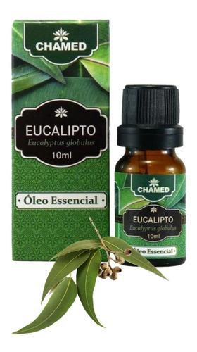 óleo essencial de eucalipto globulus 10 ml chamed