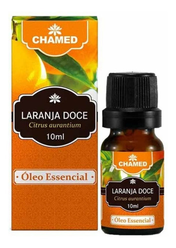 óleo essencial de laranja doce 10 ml chamed