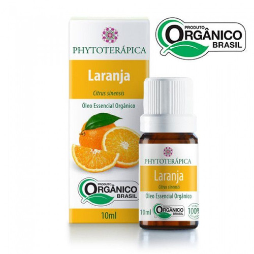 óleo essencial laranja doce (orgânico)- 10ml phytoterápica