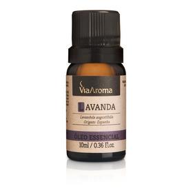 Óleo Essencial Lavanda 100% Puro E Natural 10ml Via Aroma