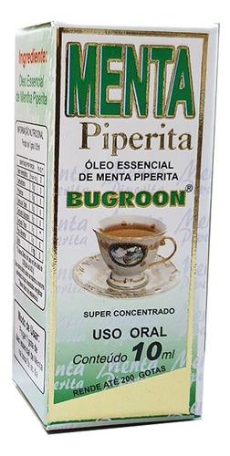 oleo essencial menta piperita 7 x 10ml - bugroon