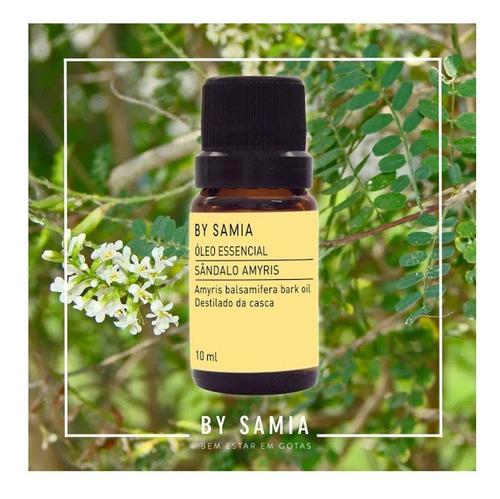 óleo essencial sândalo 10ml by samia