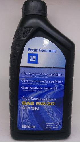 óleo genuino gm 5w30 api sn - kit 4 l  + filtro de óleo