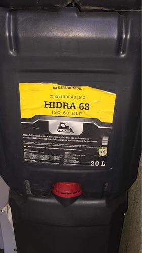 óleo hidráulico 68