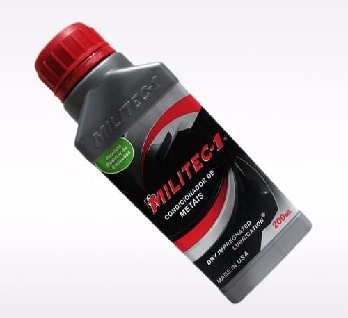 oleo lubrificante aditivo original militec - 1 p/motor carro