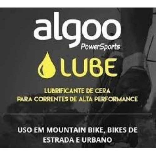 óleo lubrificante algoo cera speed mtb frasco 200ml bike