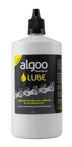 óleo lubrificante algoo para corrente bicicleta cera 200ml