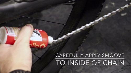 oleo lubrificante cera biodeg. bike corrente 125ml - smoove