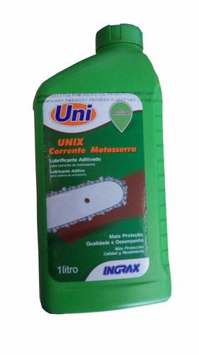 óleo lubrificante corrente motosserras unix alta adesão 1 l.