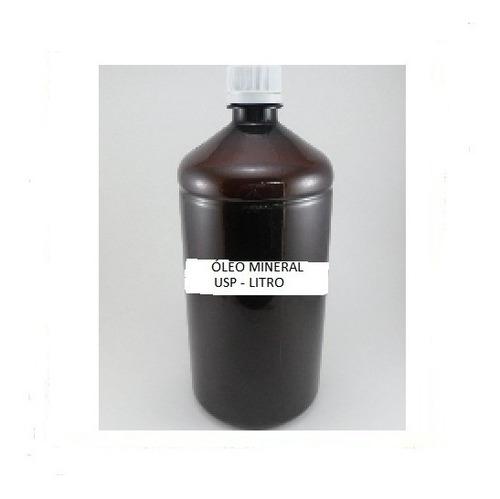 óleo mineral u.s.p litro.