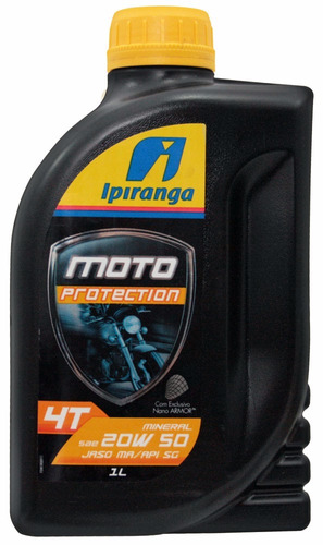 óleo motor ipiranga moto protection 20w50 mineral